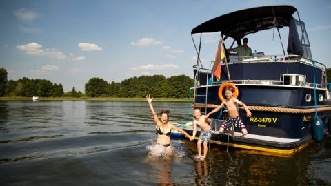 Badespaß - Müritz Yacht Management